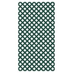 Veranda 0.2 in. x 4 ft. x 8 ft. Vinyl Forest Green Classic Diamond Lattice-73004019 at The Home Depot