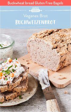 Buckwheat bread Gluten Free Bagels #Buckwheat #bread #Gluten #Free #Bagels Gluten Free Bagels, Vegan Gluten Free, Buckwheat Bread, Nutritional Yeast Recipes, Whole Grain Cereals, Bagel Recipe, Low Fat Yogurt, Vegan Recipes, Food Porn