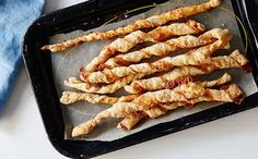 Whip up homemade cheese sticks with this recipe.