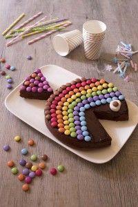 Gâteau d'anniversaire poisson en chocolat – 2 ans