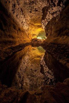 ✯ Cueva de los Verdes - Canary Islands, Spain