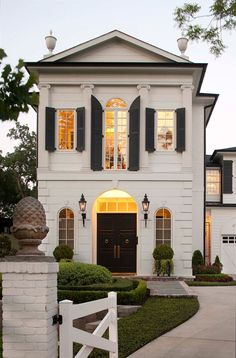 Palatial Home with Federal Style Architecture - Houston, Texas