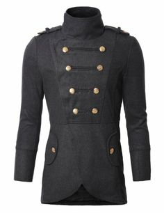 Unique Fashion, Mens Fashion, Fashion Design, Kinds Of Clothes, Clothes For Women, Military Style Jackets, Military Fashion, Look Cool, Mens Suits