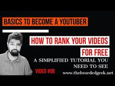 How To Rank Your Videos On YouTube in 2020 | A Simplfied Tutorial - YouTube