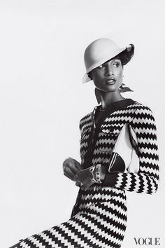 Beverly Johnson photographed by Irving Penn, 1973.