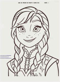 Anna Frozen, Frozen Cake, Frozen Party, Frozen Images, Disney Princess Pictures, Frozen Birthday, Dragon Ball, Diy And Crafts, Cricut