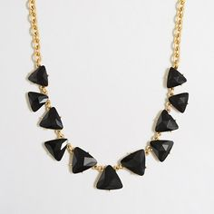 J.Crew Factory - Factory crystal triangles necklace