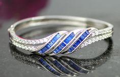 925 Sterling Silver, Elegant Bracelet, Large Bracelet, Diner Bracelet, Party Bracelet, Jewelry