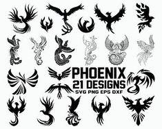 Corona Tattoo, Fenix Tattoos, Phoenix Drawing, Black Tattoos, Wolf Tattoos, Small Tattoos, Tatoos, One Design, Svg Files For Cricut