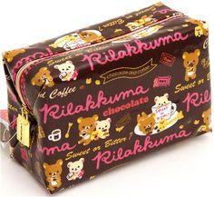 Rilakkuma pouch with chocolate and coffee