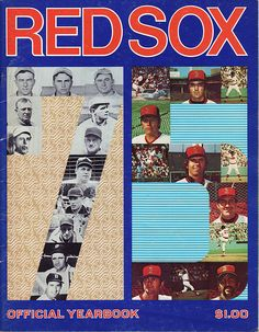 1975 Red Sox Yearbook