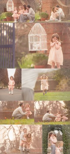 Spring and doves <3| Chicago Child and Family Photographer