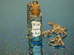 Blue Fairy When You Wish Upon a Star Bottle of by LifeistheBubbles