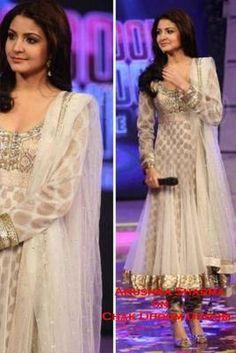 IS Ethnic Designer Anarkali Party Wear Pakistani Indian Salwar Kameez Bollywood Robe Anarkali, Costumes Anarkali, White Anarkali, Anarkali Suits, Anarkali Churidar, Patiala Dress, Sharara, Saree Dress, Punjabi Suits