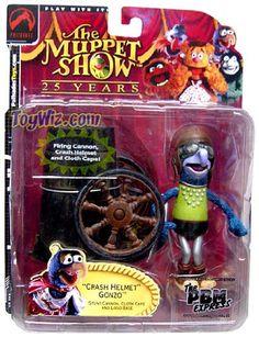 The Muppets PBM Express Exclusive Action Figure Crash Helmet Gonzo