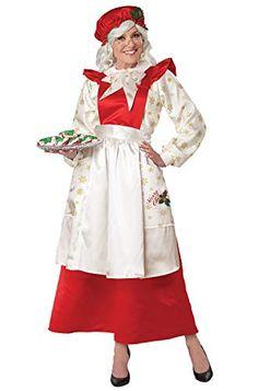 California Costumes Mrs. Claus Pinafore Dress with Apron Adult Costume California Costumes Santa Claus Number, Adult Costumes, Costumes For Women, Fashion Models, Fashion Show, Fashion Design, California Costumes, Mrs Claus, Pinafore Dress