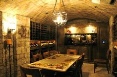 french wine cellars   Wine Cellars of The French Tradition - traditional - wine cellar - los ...