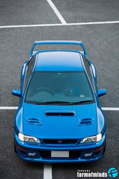Farm Of Minds: Subaru STi: 22B