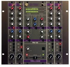 Formula Sound PM-100 analogue rotary mixer