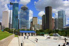 skatepark downtown - Google Search Skate Park, Marina Bay Sands, Skyscraper, Multi Story Building, Around The Worlds, Exterior, Urban, City, Travel