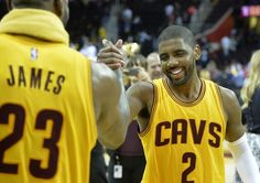 Far from 100%, Kyrie Irving gives LeBron and the Cavs the boost they needed