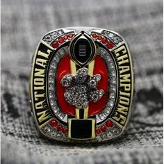 c599a8ac506 SPECIAL EDITION Clemson Tigers National Championship (2016) - Premium  Series Championship Rings