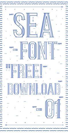 Sea Font - By Yai Salinas.