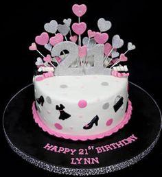 Pin by Denise Ann Barker on 21st birthday cake ideas for Charlotte