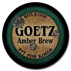 Goetz Beer - 4 pack Rubber Drink Coasters ZuWEE http://www.amazon.com/dp/B00LV2BAJ6/ref=cm_sw_r_pi_dp_H4hqub1JD6SFE