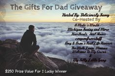 Gifts For Dads #Giveaway $250 ARV | Heartfully Heather {ends 5/18}
