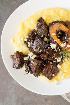 Braised Beef Shanks with a Le Creuset #giveaway