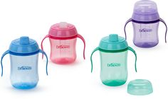 Training Cups | Dr. Brown's - green for Logan, blue for Kayson!