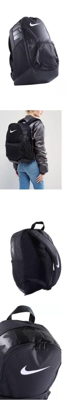 Bags and Backpacks 163537: Nike Brasilia Medium Size Ba5329-010 Black White Unisex Backpack Laptop Book Bag -> BUY IT NOW ONLY: $46.99 on eBay!