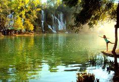 Wodospady Kravica <3 Zdecydowanie zostawiłam tam kawałek serca. http://www.atlasperspektyw.pl/2015/01/dwa-lata-wstecz-inspirujac-sie-w-google.html