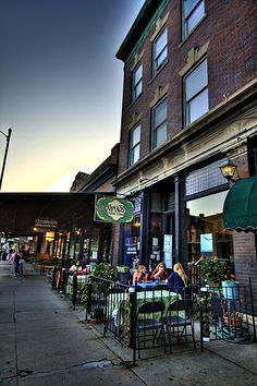 Ahmad's in The Old Market, Omaha, Nebraska