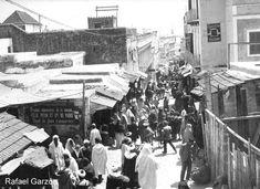 Tanger Old photographs of Tangier Calle de Siaguin, fotos, old, century, photos, nineteenth, xix, siglo