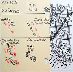 Daisy Chain pattern by Scrapacat, via Flickr