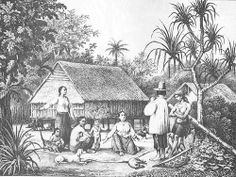 Chamorro Family by Guampedia.com, via Flickr Guam, Island Life, Pacific Ocean, Southeast Asia, Mariana, Islands, Spanish, Weapons, Weapons Guns