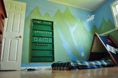 Create your own indoor camping snooze haven for your kidlets