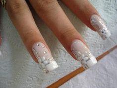 See more about wedding nails design, nail art designs and wedding nails. bridalnail