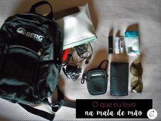 Cristiana Lifestyle: Travel | O que levo na minha mala de mão!