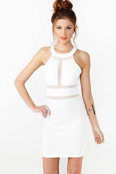 Paisley Mesh Dress