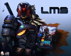ArtStation - LMS - Threezero Box , Dan LuVisi
