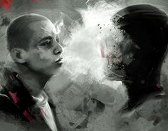 """Check out new work on my @Behance portfolio: """"American History X"""" http://be.net/gallery/54117489/American-History-X"""