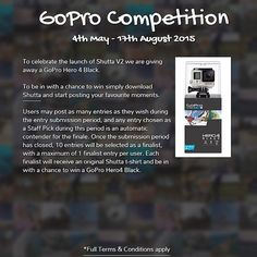 Just one more month to get your shots in!! Enter as many times as you want to increase your chances! Good luck everyone  Shutta is giving away a GoPro Hero4 Black! Start posting your #ShuttaMoments now to be in with a chance to win... Details on: shutta.co/GoProCompetition  Download Shutta for free from the App Store through the link in the bio