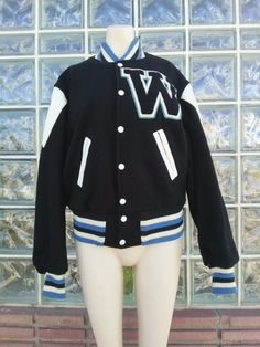 Check out this item in my Etsy shop https://www.etsy.com/listing/268117031/vintage-1960s-varsity-jacket-letterman
