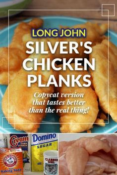 This Long John Silvers chicken batter recipe makes these chicken blanks taste just like the Long John Silvers chicken planks you get at the drive-thru! Bonus: they are healthier too! Restaurant Recipes, Seafood Recipes, Appetizer Recipes, Cooking Recipes, Cat Recipes, Dinner Recipes, Chicken Appetizers, Entree Recipes, Dinner Ideas