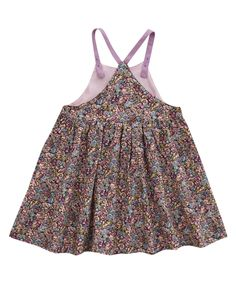 Liberty London Childrenswear Age 3M to 18M Chive Print Pinny Dress | Baby Clothing by Liberty London Childrenswear | Liberty.co.uk