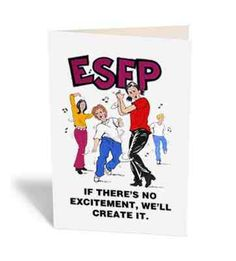 ESFP!!  Funny how he's so much like Dixie.... One letter difference. XD