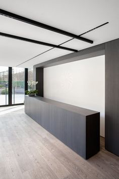 Custom linear fixture with square downlights by LF Illumination ...